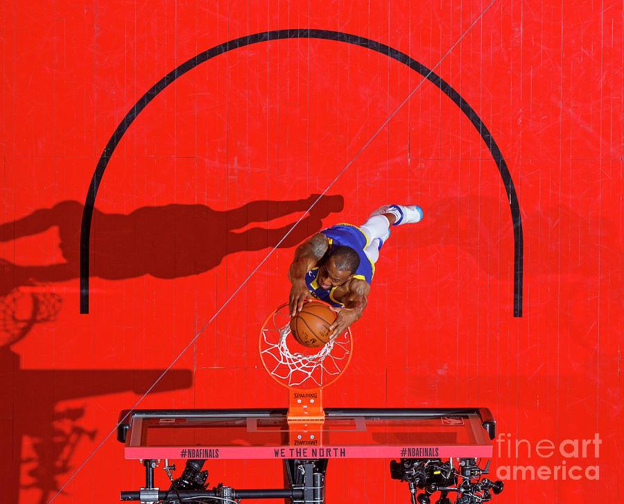 Andre Iguodala Photograph by Mark Blinch