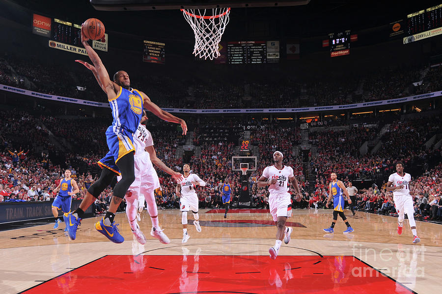 Andre Iguodala Photograph by Sam Forencich