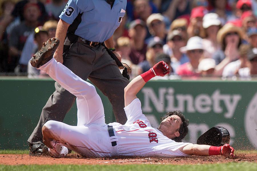 Andrew Benintendi Photograph by Billie Weiss/boston Red Sox