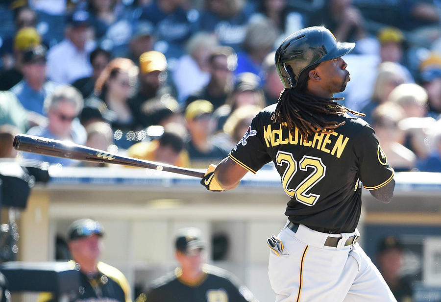 Andrew Mccutchen Photograph by Denis Poroy