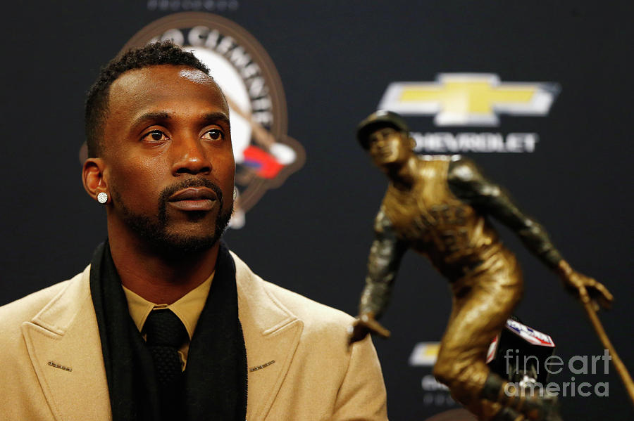 Andrew Mccutchen Photograph by Mike Stobe