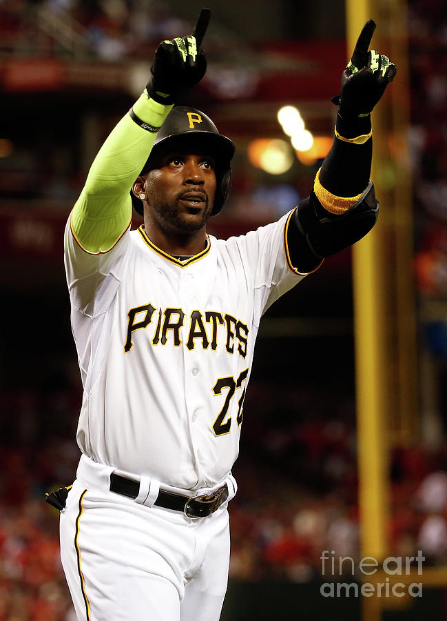 Andrew Mccutchen Photograph by Rob Carr