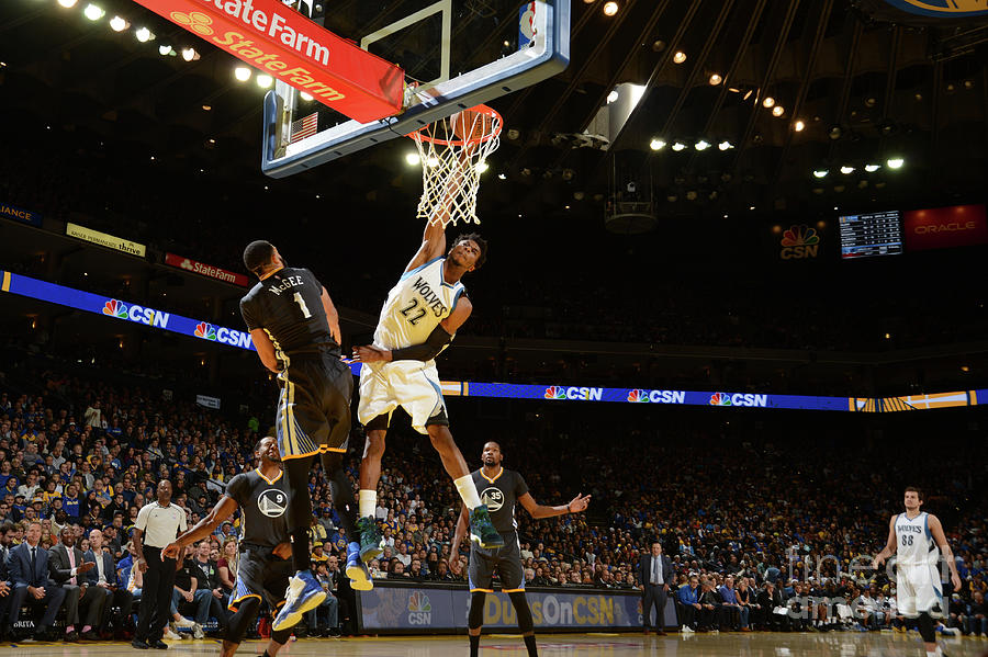 Andrew Wiggins Photograph by Noah Graham