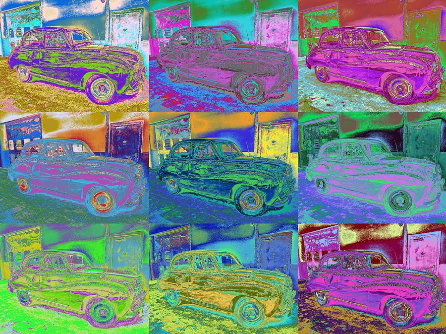 Andy Warhol's Cars by Petri Keckman