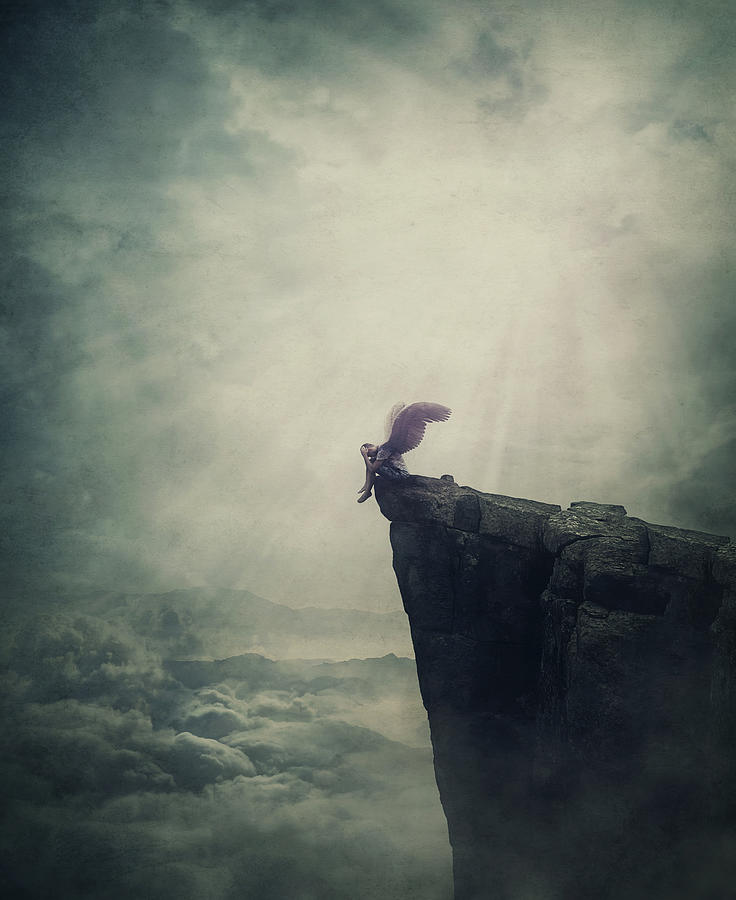 Angel Fallen Into Limbo Photograph