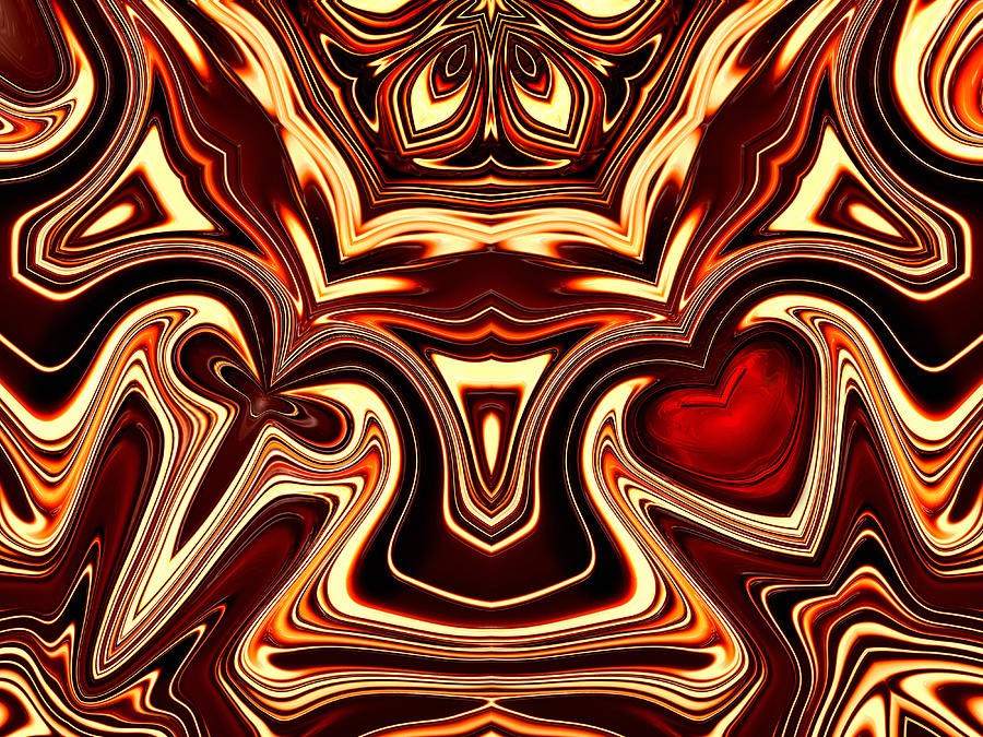Angel Of Fight And Love Digital Art