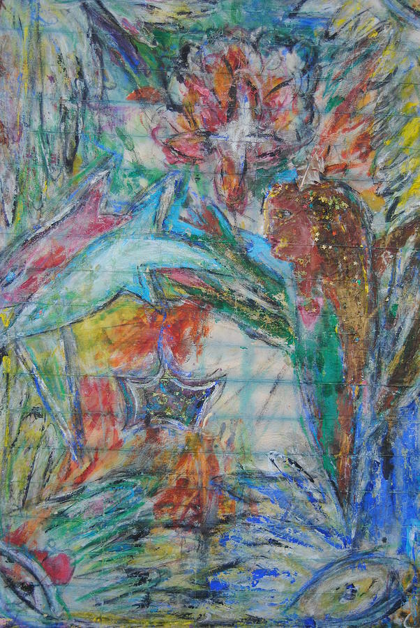 Angel Mixed Media - Angel of the Elements by Gary Wohlman
