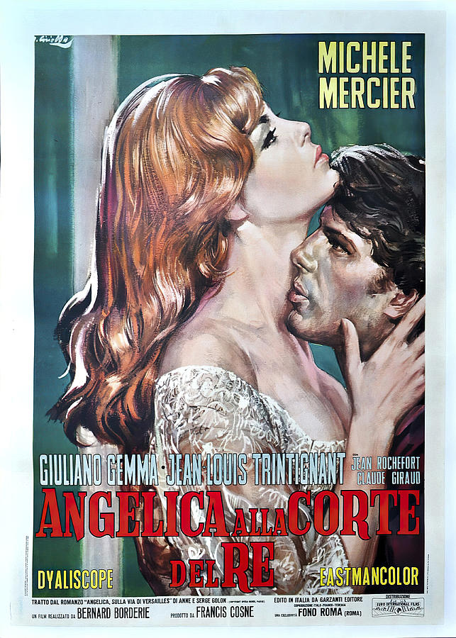angelique And The King, 1966, Mixed Media