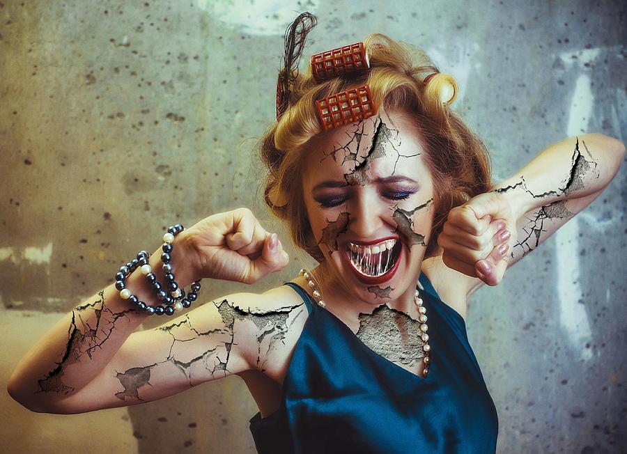 Anger Management Surreal Digital Art