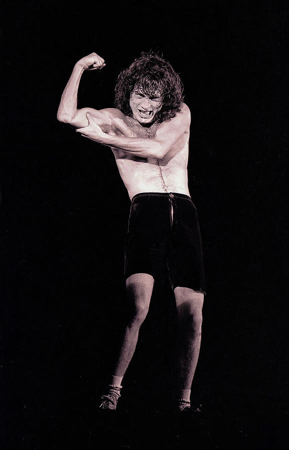 Angus Young Photograph - Angus  by Leigh Henningham