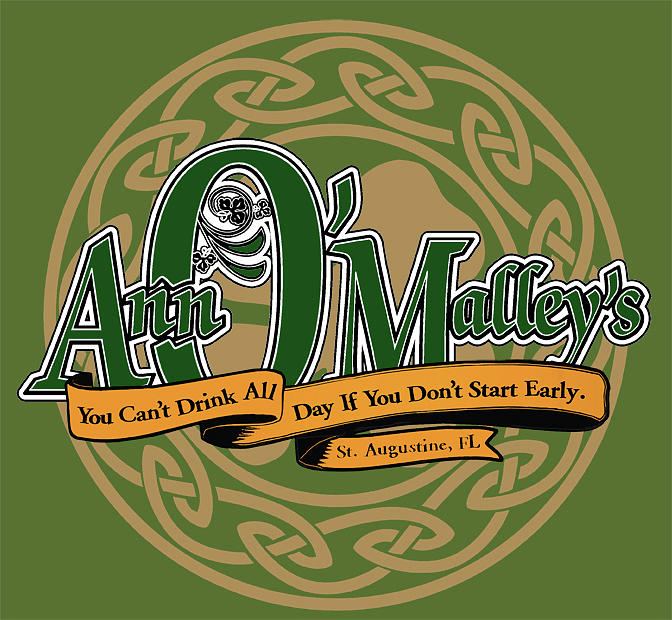 Ann OMalleys  Pub Logo Art Digital Art by Scott Waters