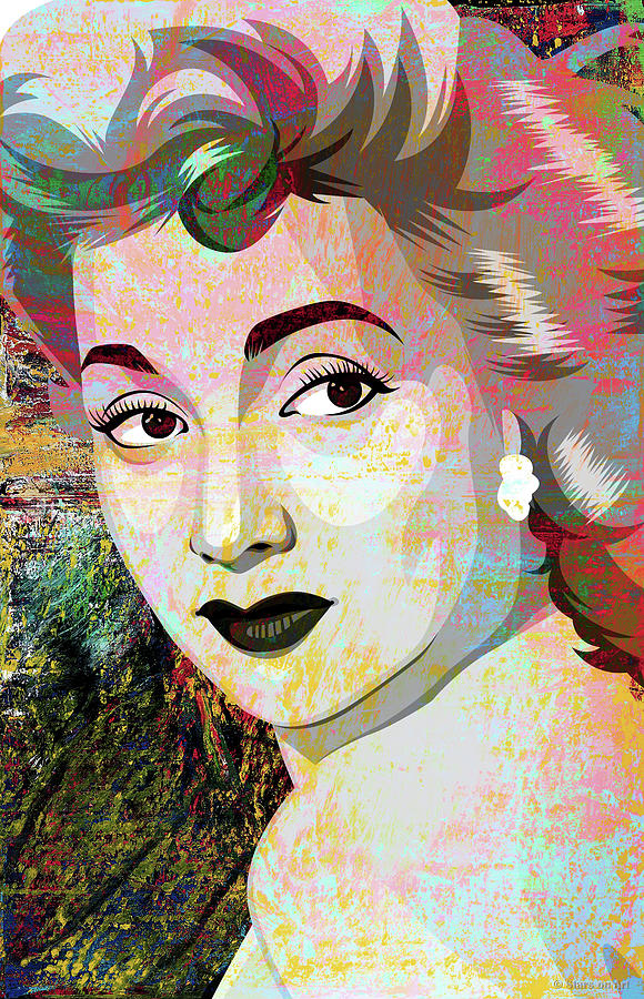 Ann Sothern Mixed Media