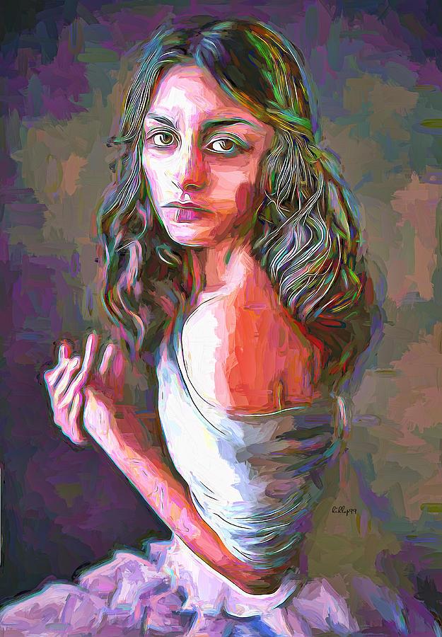 Anna Portrait Painting