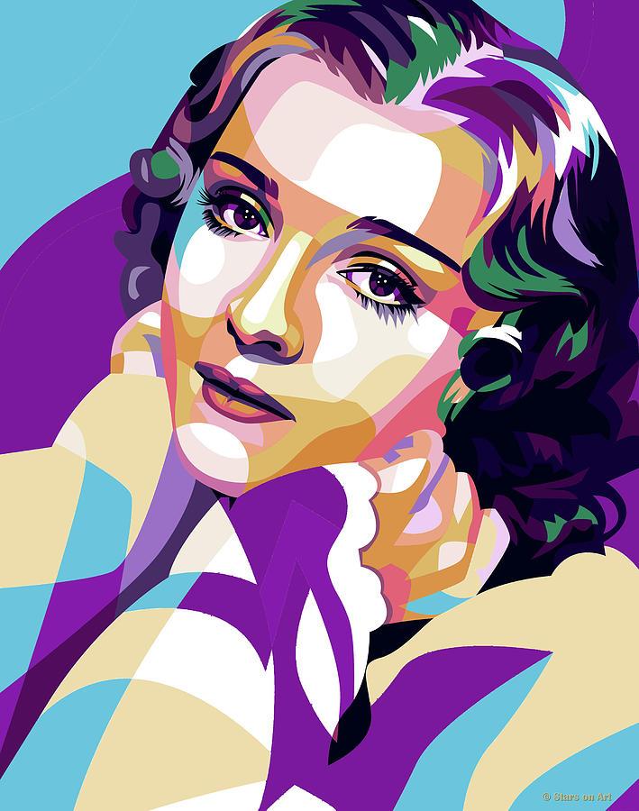 Anna Sten 2 Painting