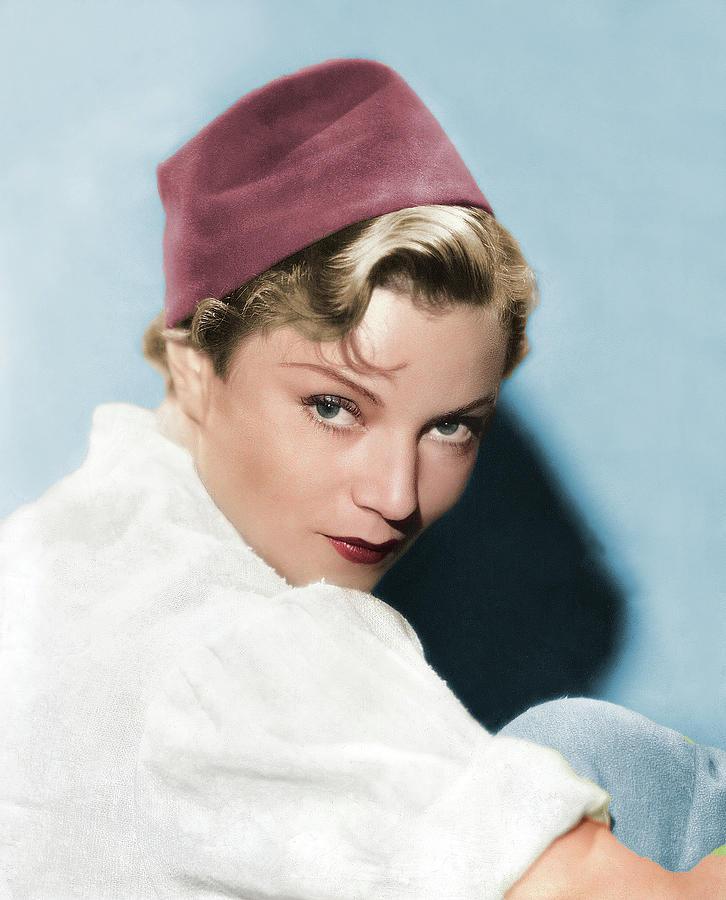 Annabella Colorized Photograph