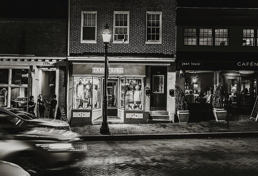 Annapolis After Dark Photograph