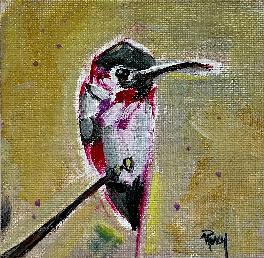 Annas Hummingbird Painting
