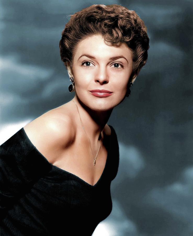 Anne Bancroft Colorized Photograph