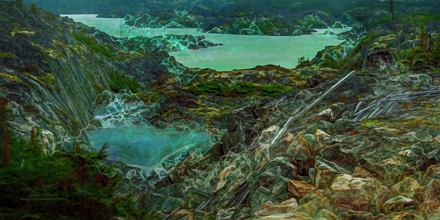 British Columbia Digital Art - Anomalous Event In British Columbia by Mike Braun