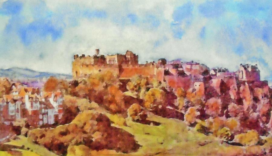 Another Edinburgh Skyline Painting