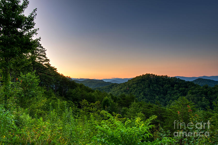 Foothills Parkway Photograph - Another Foothills Sunrise by Phil Perkins