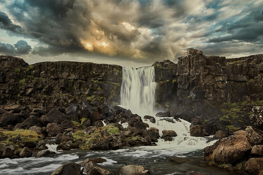 Another Icelandic Waterfall Photograph