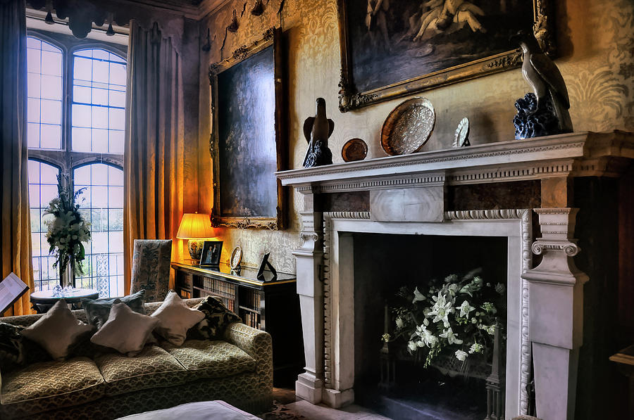 Another Room In Leeds Castle by PAUL COCO