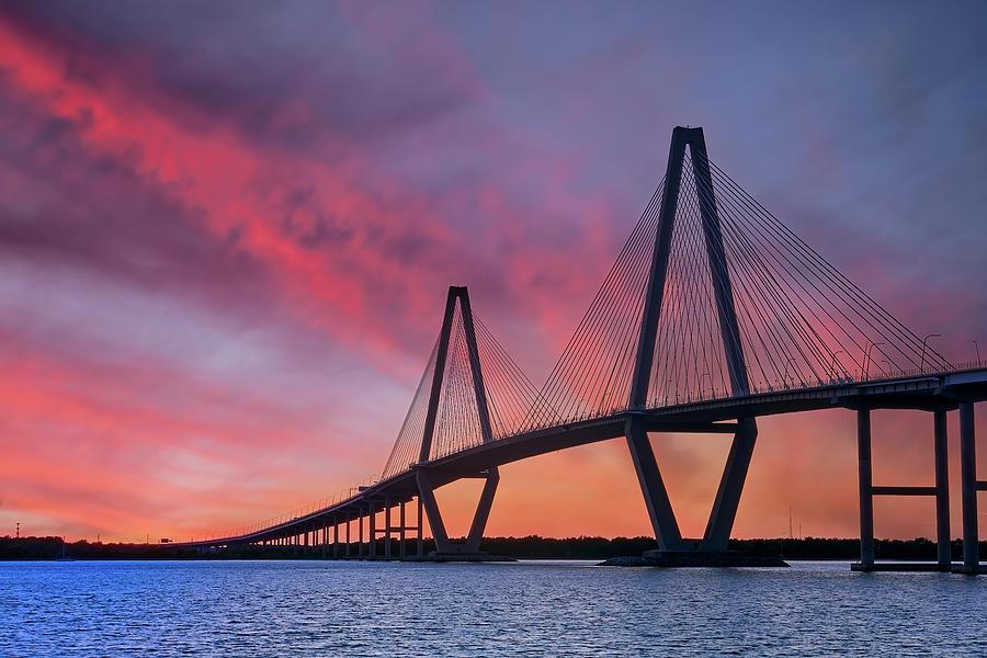 Another Sunrise at Ravenel Bridge by Jon Glaser