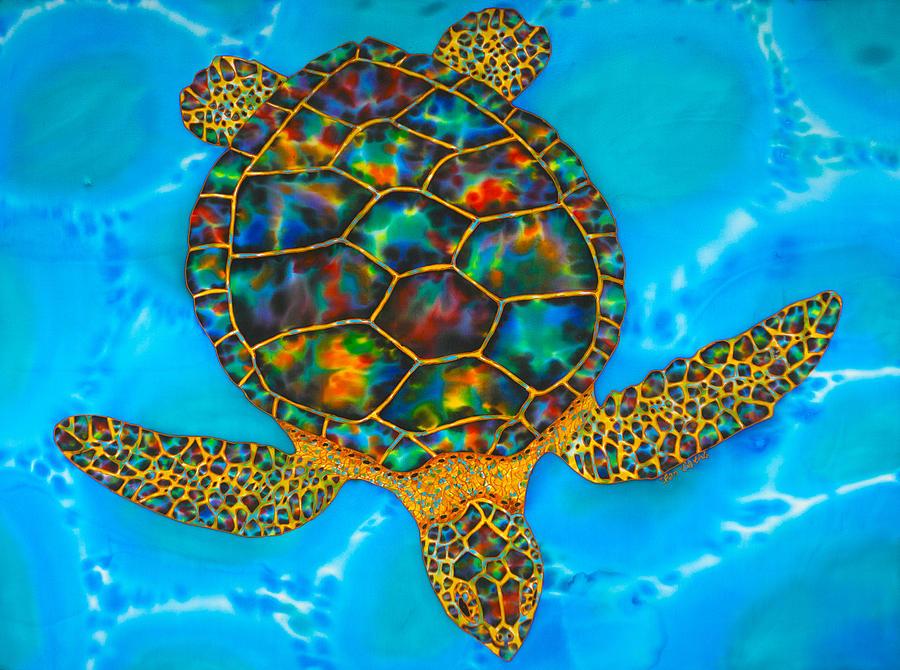 Anse cochon Sea Turtle by Daniel Jean-Baptiste