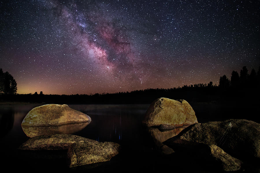 Antelope Lake Nightscape Photograph