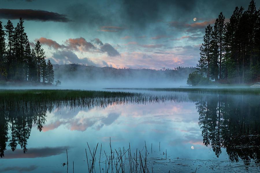 Antelope Lake Reflective Dawn Photograph