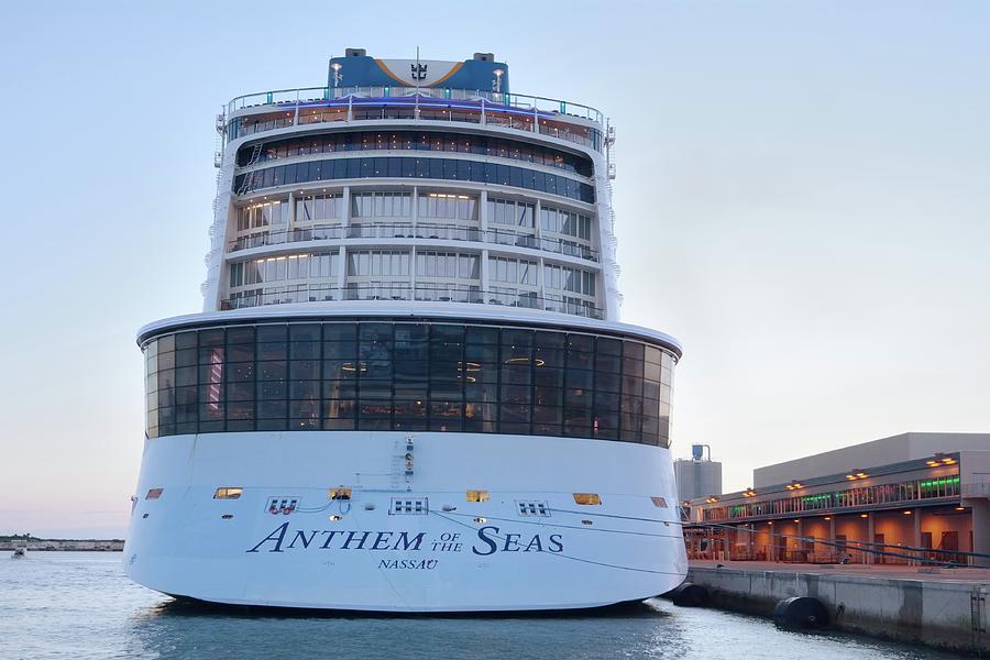 Anthem of the Seas at Dawn by Bradford Martin