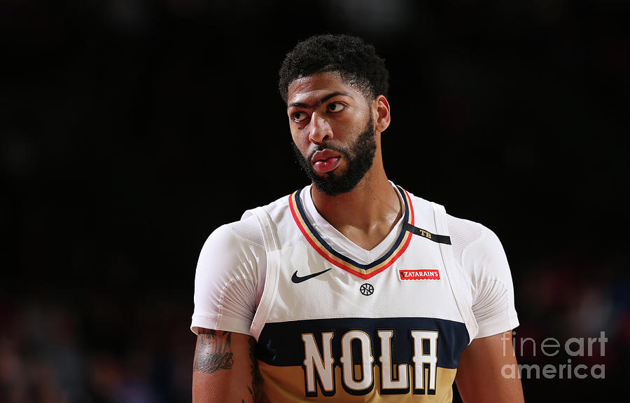 Anthony Davis Photograph by Sam Forencich