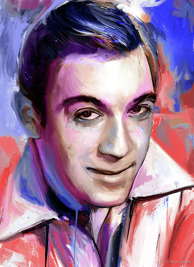 Anthony Quinn Painting Painting