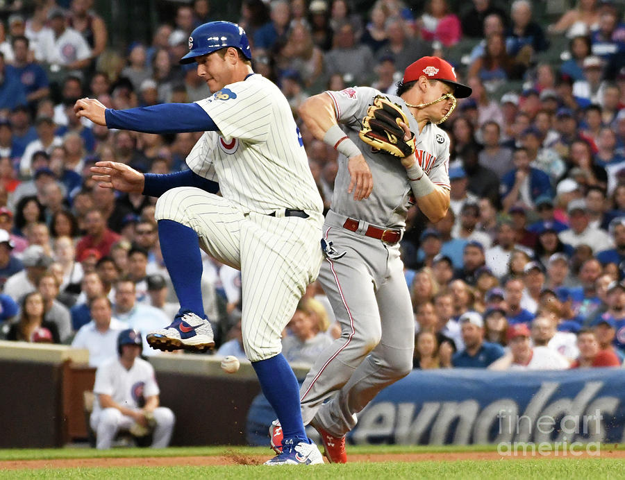 Anthony Rizzo And Derek Dietrich Photograph by David Banks