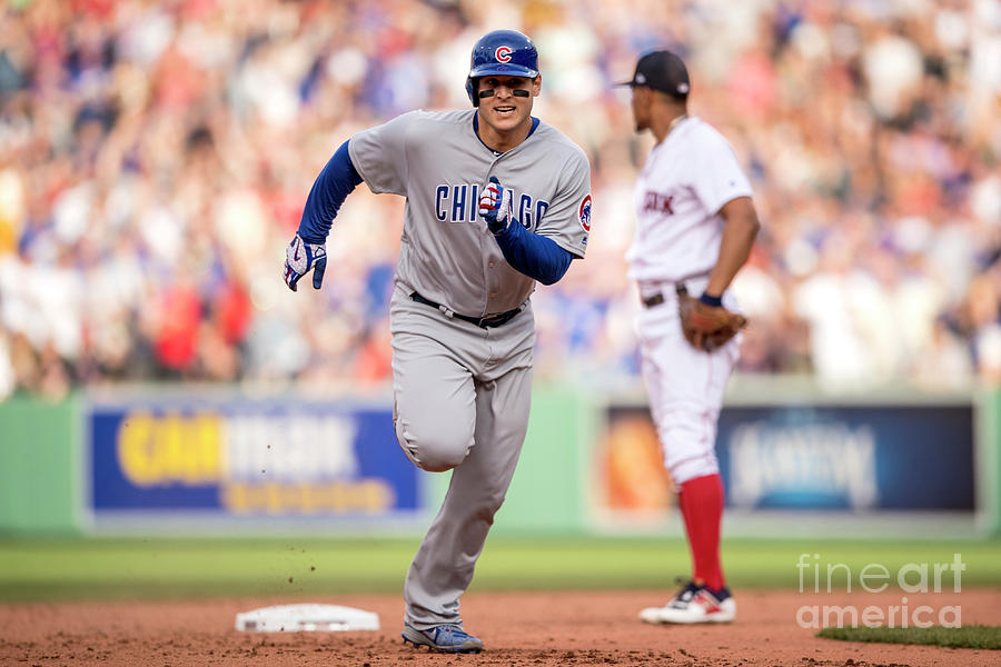 Anthony Rizzo Photograph by Billie Weiss/boston Red Sox