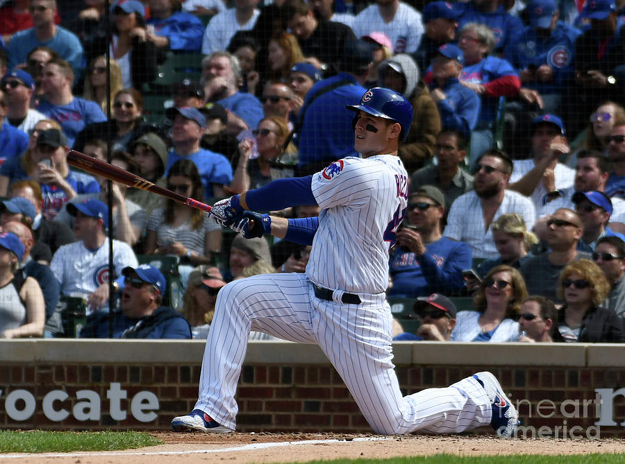Anthony Rizzo Photograph by David Banks