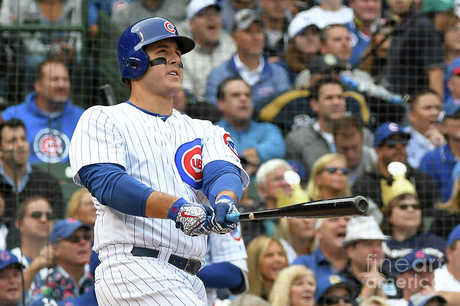 Anthony Rizzo Photograph by David Durochik