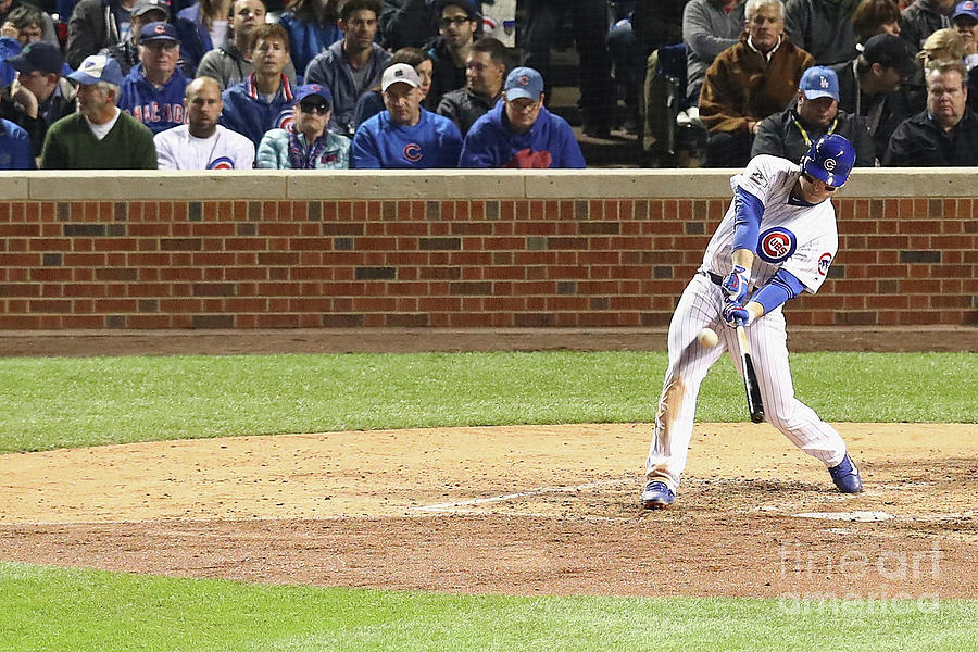 Anthony Rizzo Photograph by Dylan Buell