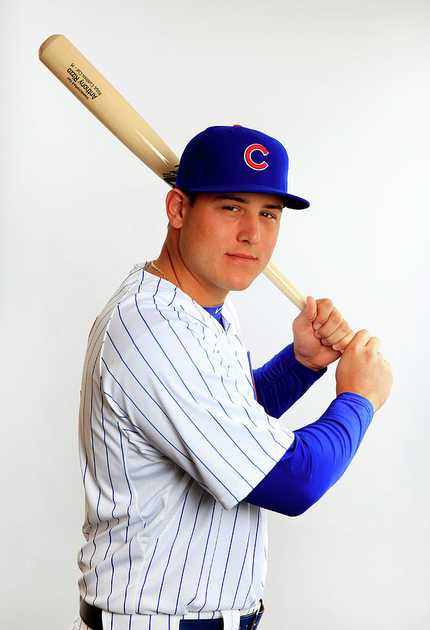 Anthony Rizzo Photograph by Jamie Squire