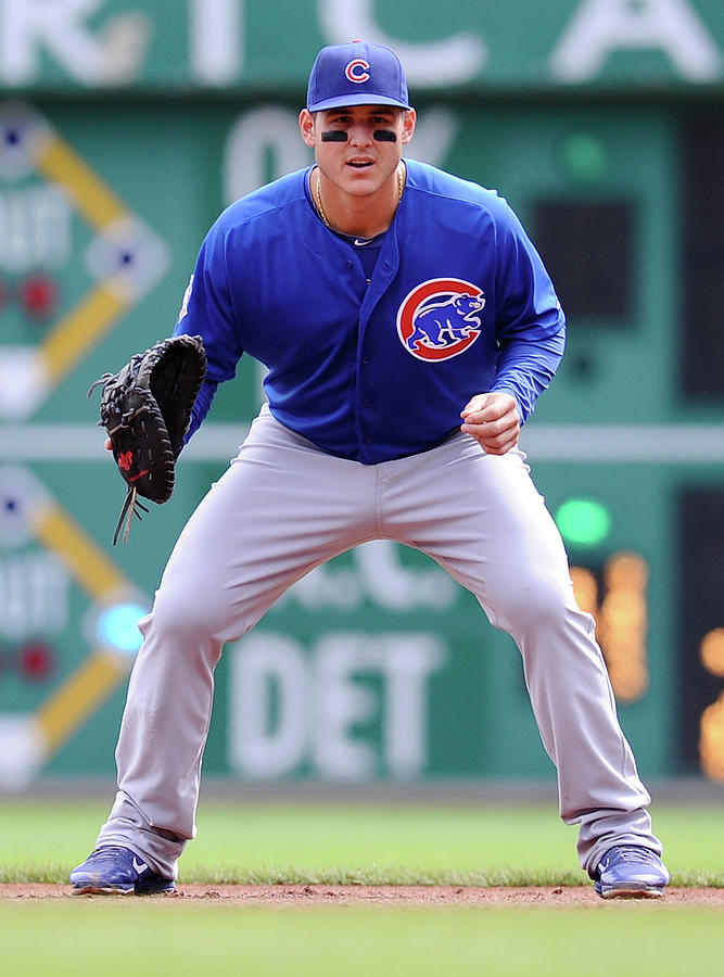 Anthony Rizzo Photograph by Joe Sargent