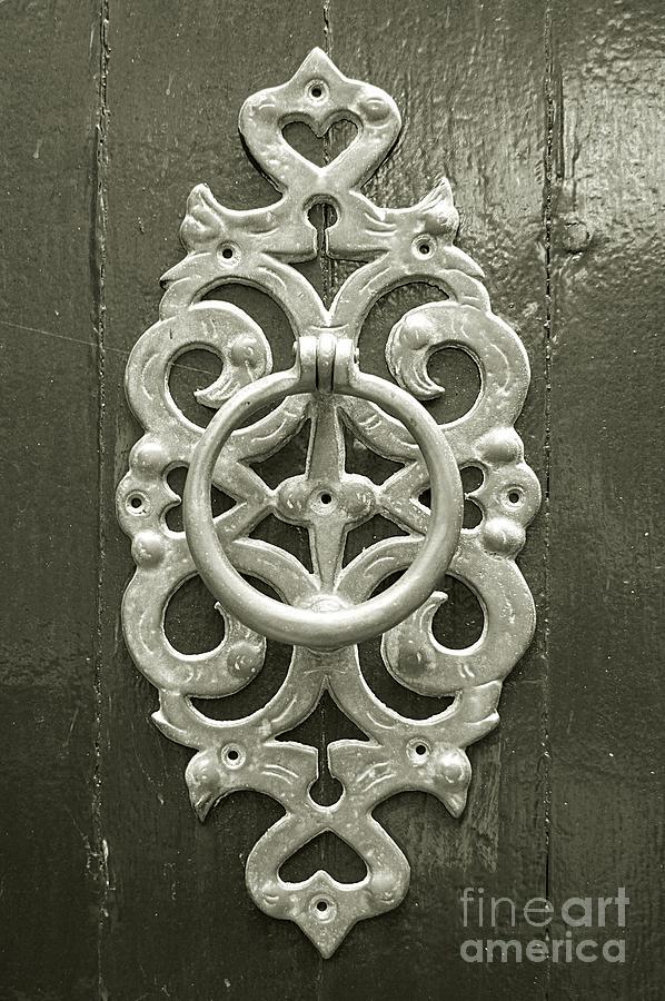 Antique Door Knocker Photograph