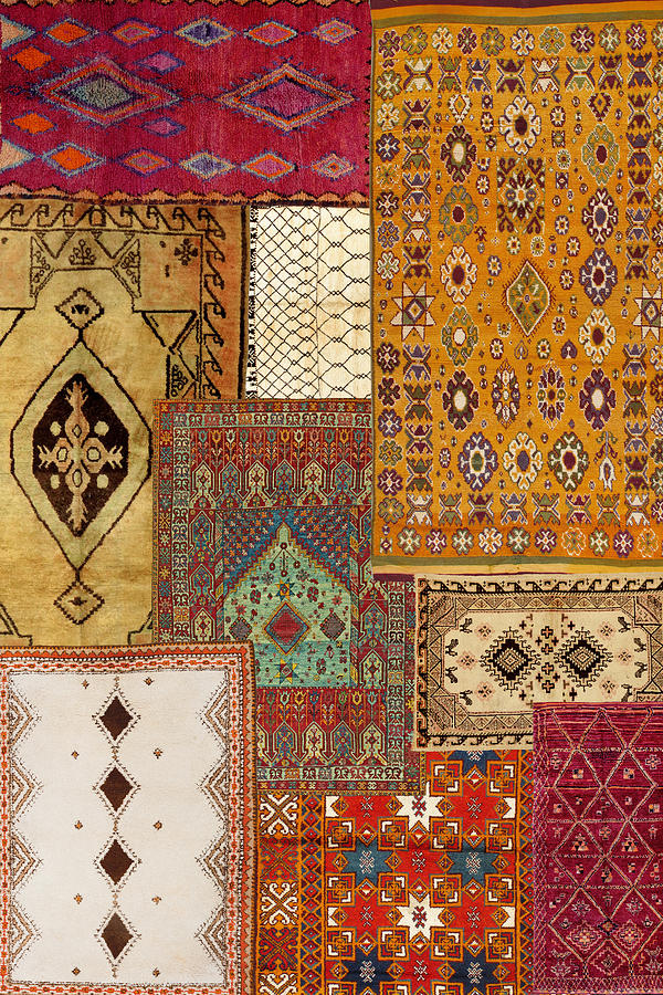 Antique Rugs 4 by Andrew Fare