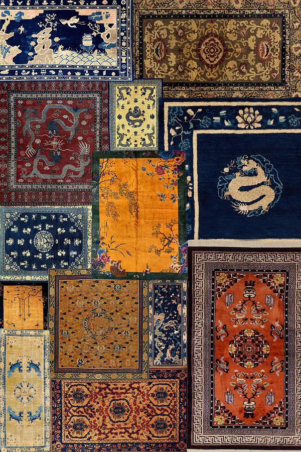 Antique Rugs 5 by Andrew Fare