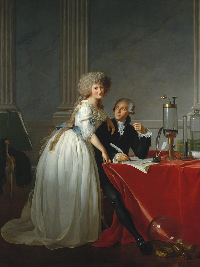 Antoine-Laurent de Lavoisier and Marie-Anne Paulze Lavoisier by War Is Hell Store