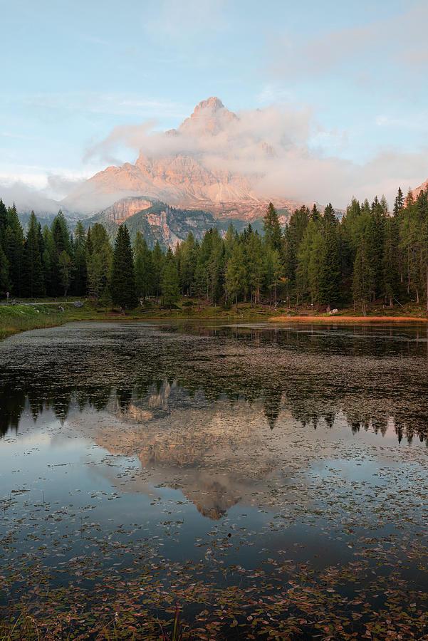 Antorno lake by Yuri San