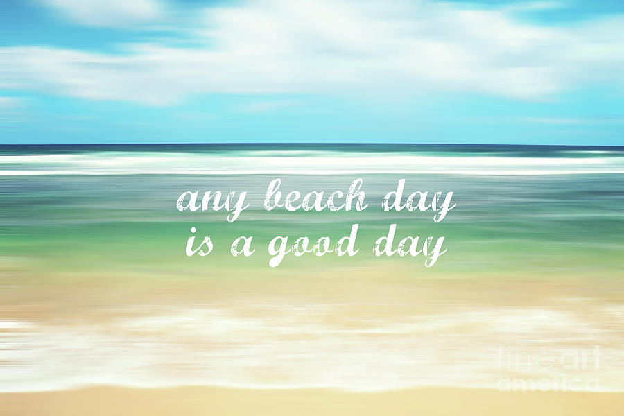Any Beach Day Photograph