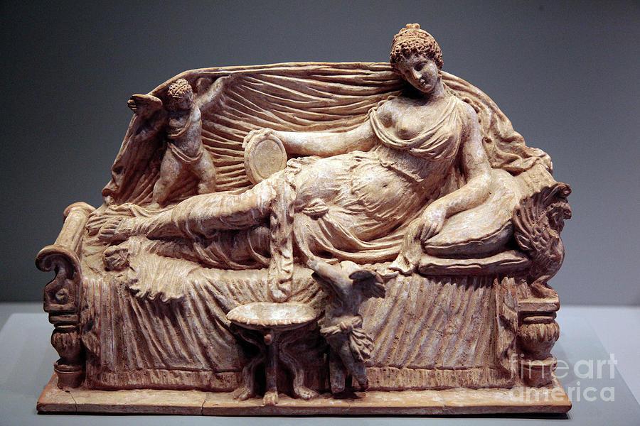 Aphrodite And Eros 2021 Photograph