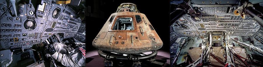 Apollo Photograph - Apollo 11 First Moon Landing Module by Daniel Hagerman