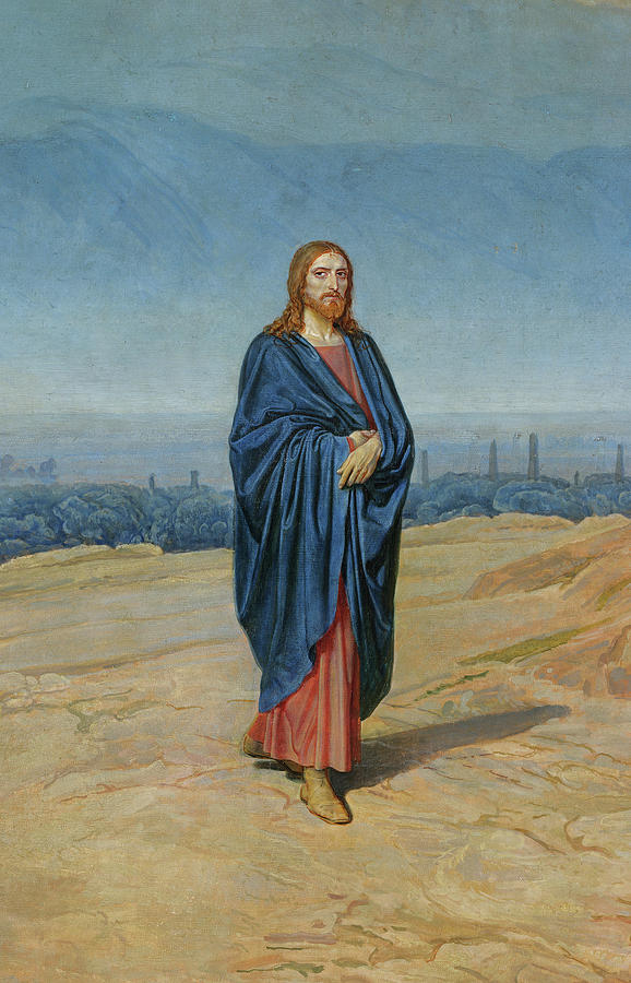 Ivanov Painting - Appearance Of Christ by Alexander Andreyevich Ivanov